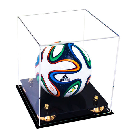 Mini Soccer Ball <br> Clear Display Case <br><sub> FIFA, NCAA, and More! </sub>, Display Case, Better Display Cases, Better Display Cases - Better Display Cases