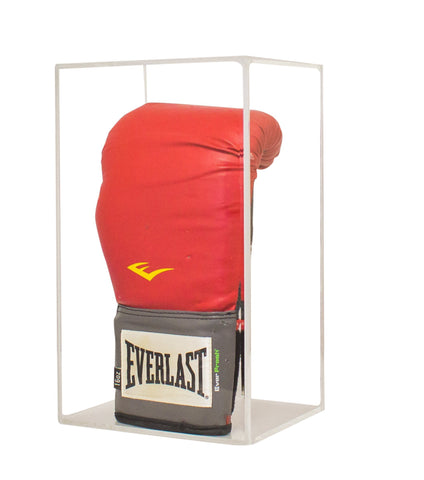 Vertical Boxing Glove Display Case