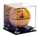 Mini Basketball <br> Mirrored Display Case <br><sub> NCAA, NBA, and More! </sub> - Better Display Cases - 2