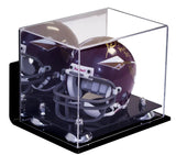 Mini Football Helmet <br> Wall-Mount Display Case <br> <sub> NFL, NCAA, and more! </sub> - Better Display Cases - 2