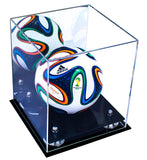 Mini Soccer Ball <br> Mirrored Display Case <br><sub> FIFA, NCAA, and More! </sub> - Better Display Cases - 2
