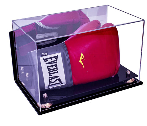 Boxing Glove <br> Mirrored Wall Mount <br> Display Case<br> <sub> Fits One or Two Gloves </sub>, Display Case, Better Display Cases, Better Display Cases - Better Display Cases