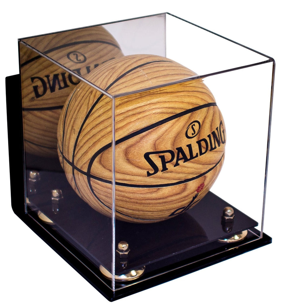 Better Display Cases Mini Basketball Display Case With Wall Mount