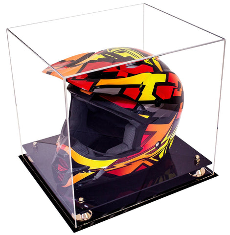 Motocross Helmet <br> Clear Display Case <br> <sub> NASCAR, Moto, and more! </sub>, Display Case, Better Display Cases, Better Display Cases - Better Display Cases