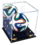 Mini Soccer Ball <br> Mirrored Display Case <br><sub> FIFA, NCAA, and More! </sub>, Display Case, Better Display Cases, Better Display Cases - Better Display Cases