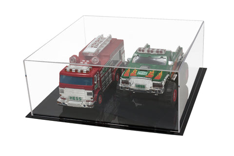 "Acrylic Deluxe Display Case - Medium Rectangle Box 15"" x 15"" x 6"" (A030-A), Display Case, Better Display Cases, Better Display Cases - Better Display Cases"