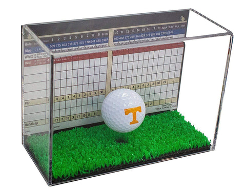 New F//S Glass Volleyball//Soccer Display Case UV Free Shipping Made in the USA