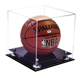 Basketball Display Case <br> (Full Size)<br> <sub> For NBA, NCAA, and more </sub> - Better Display Cases - 2