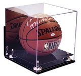 Basketball Display Case <br> Wall Mount With Mirror <br> Full Size<br> <sub> For NBA, NCAA, and more </sub>, Display Case, Better Display Cases, Better Display Cases - Better Display Cases