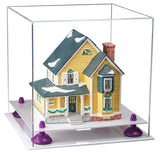 Clear Acrylic Display Box with White Base