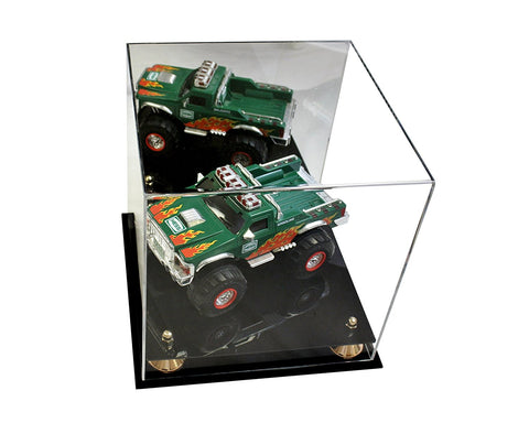 Medium Square Display<br>Case with Mirror<br><sub>11 x 11 x 11