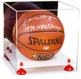 Mirrored Basketball Display Case