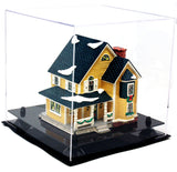 Medium Versatile Display <br> Clear Square Case <br> <sub>11 x 11 x 11