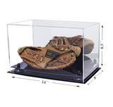 Catchers Mitt <br> Display Case <br> With Mirror<br> <sub> MLB, NCAA, and more! </sub>, Display Case, Better Display Cases, Better Display Cases - Better Display Cases