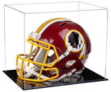 Football Helmet Case, Black Base, Clear
