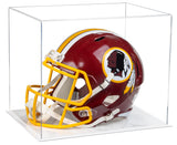 Acrylic Football Helmet Display Case with White Base