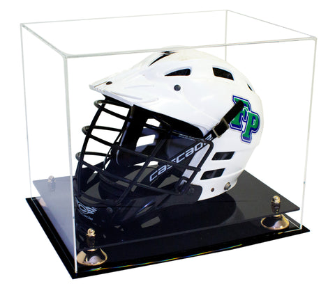 Lacrosse Helmet <br> Full Size Display Case<br> <sub> MLL, NCAA, and more! </sub>, Display Case, Better Display Cases, Better Display Cases - Better Display Cases