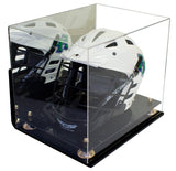 Lacrosse Helmet <br> Full Size Display Case <br> Mirrored Wall Mount<br> <sub> MLL, NCAA, and more! </sub>, Display Case, Better Display Cases, Better Display Cases - Better Display Cases