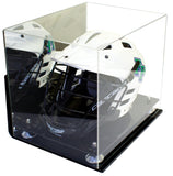 Lacrosse Helmet <br> Full Size Display Case <br> Mirrored Wall Mount<br> <sub> MLL, NCAA, and more! </sub> - Better Display Cases - 2