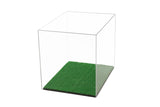 Football Helmet <br> Display Case With Turf <br> <sub> Full Sized NFL or NCAA <br> Mirrored or Clear, Display Case, Better Display Cases, Better Display Cases - Better Display Cases