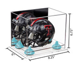 8.25x6x6.75 Not Full Size Helmet Display Case