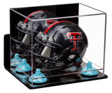 Mini Helmet Case with Wall Mount and Risers