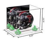8.25x6x6.75 Small Helmet Display Case