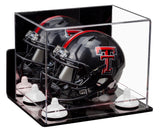 Mini Helmet Case with Mirror, Wall Mount and Risers