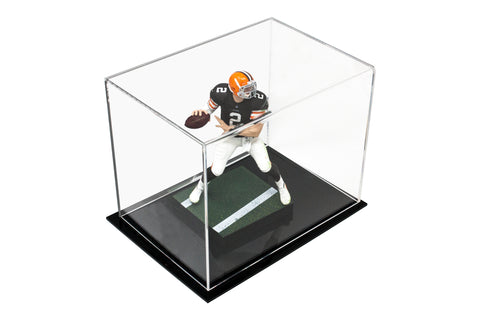 "Acrylic Deluxe Display Case<br>Small Rectangle Box<br>(Clear or Mirror)<br><sub> 8.25"" x 6"" x 6.75"" (A003-DS), Display Case, Better Display Cases, Better Display Cases - Better Display Cases"