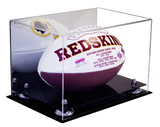 Full Sized Football <br> Display Case <br> With Mirror<br> <sub> NFL, NCAA, and more! </sub> - Better Display Cases - 2