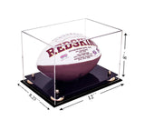 12x8.25x8 Acrylic Football Display Case