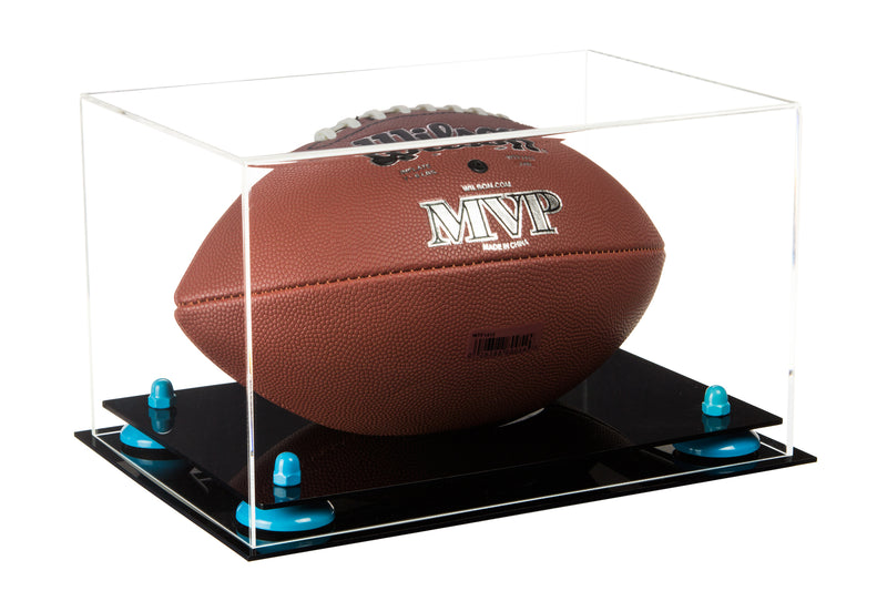 Acrylic Football Display Case with Risers