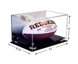 12x8.25x8 Mirrored Acrylic Football Display Case