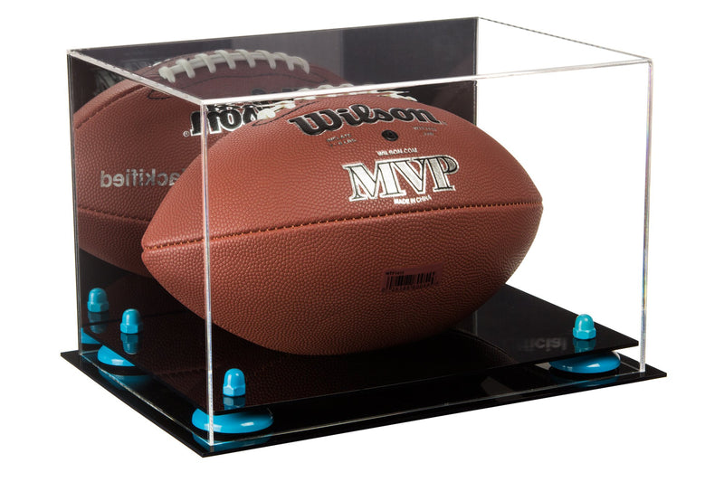 Acrylic Football Display Case with Black Base A004/B41