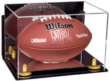 Wall Mounted Acrylic Football Display Box with Risers