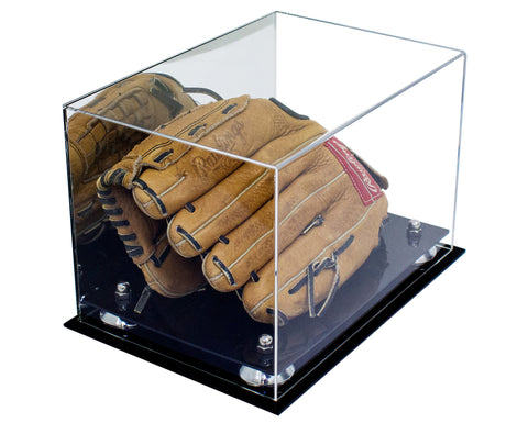 Baseball Glove <br> Display Case <br> With Mirror<br> <sub> For MLB, NCAA, and more </sub>, Display Case, Better Display Cases, Better Display Cases - Better Display Cases