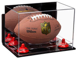 Mini Football Case with Wall Mount