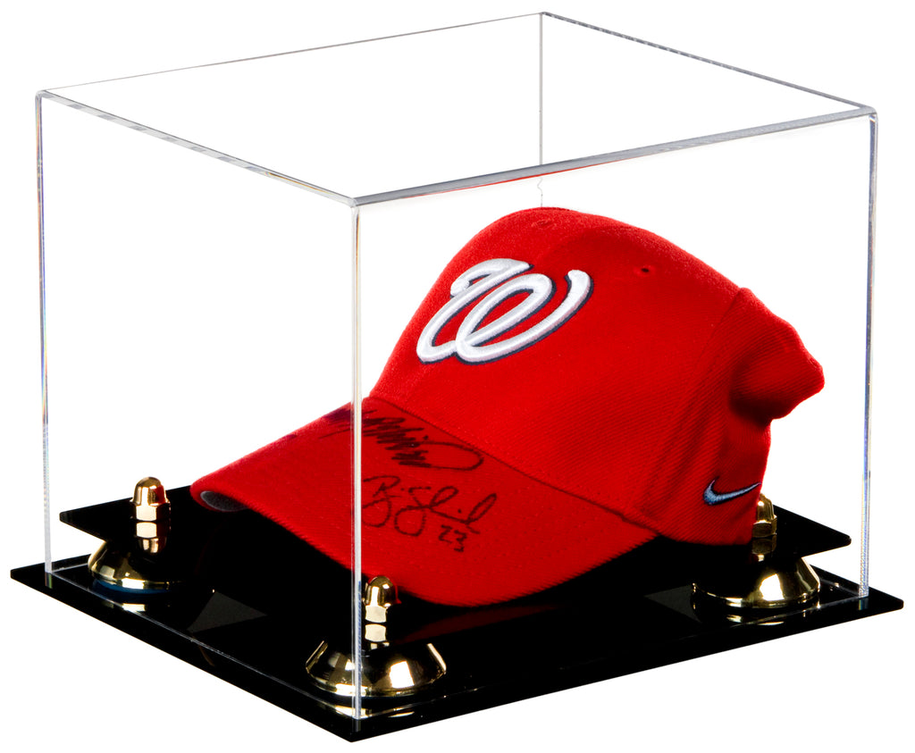 42d2d4d3b65 Deluxe Acrylic Clear Display Case for Collectible Sports Baseball Hat –  Better Display Cases