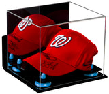 Baseball Cap<br>Display Case With<br>Mirror and Wall Mount (A006)<br><sub>For MLB, NCAA, and more </sub>, Display Case, Better Display Cases, Better Display Cases - Better Display Cases