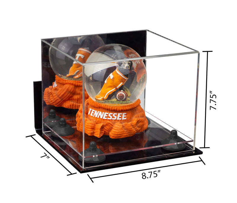 8.75x7.75x7 Mirrored Small Display Case with Wall Mount