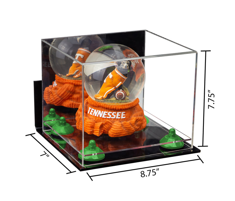 8.75x7.75x7 Collectibles Display Case with Clear Base