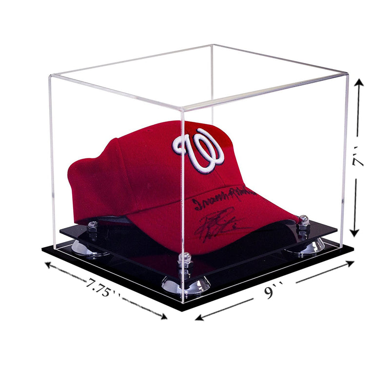 Acrylic Baseball Hat or Cap Display Case