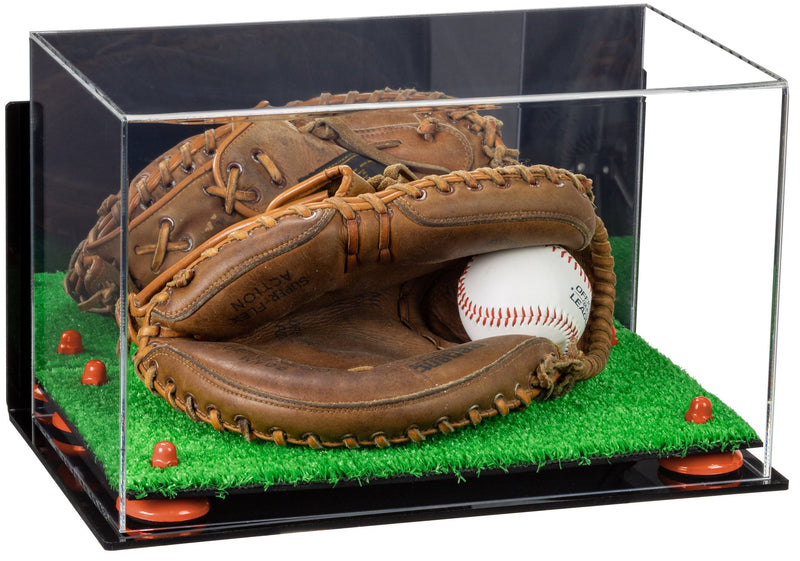 Acrylic Full Size Baseball Catchers Glove Display Case