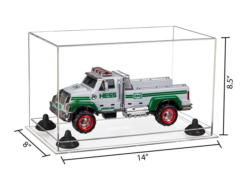 14x8x8.5 Clear Medium Display Case
