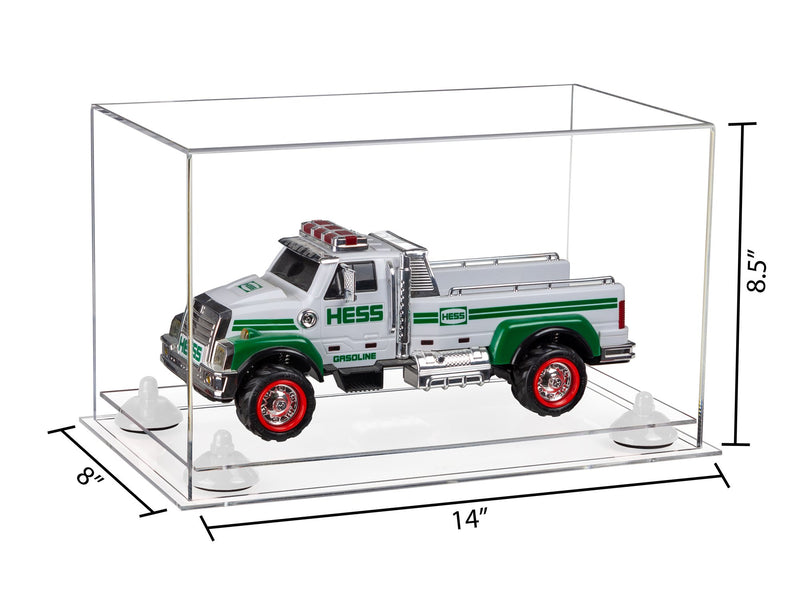 14x8x8.5 Versatile Display Case with Clear Base