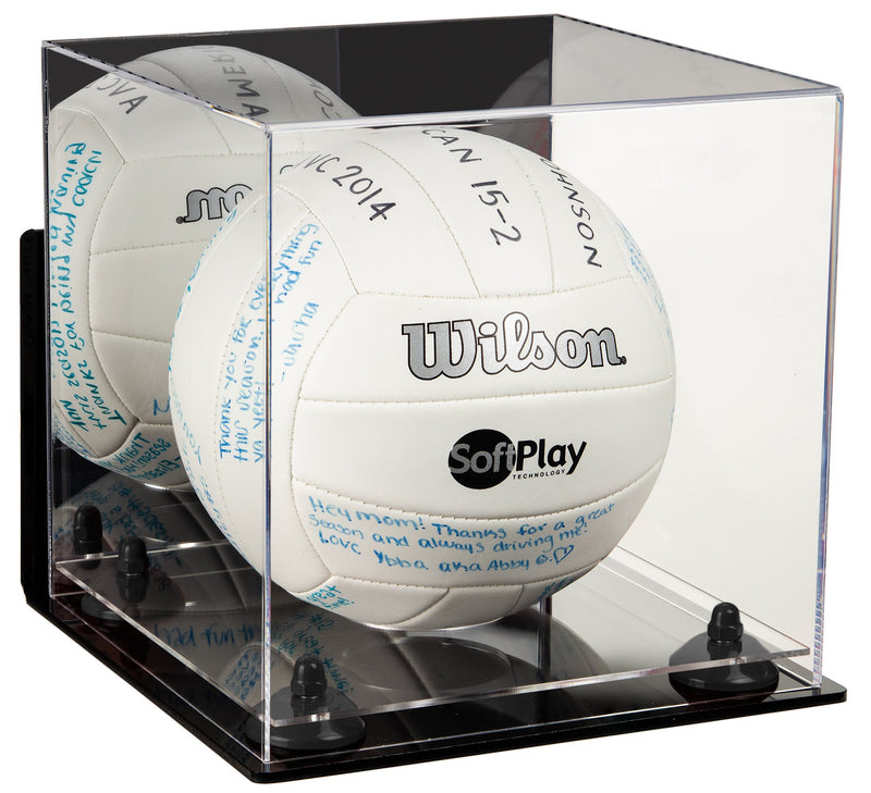 Acrylic Volleyball Display Case Mirror