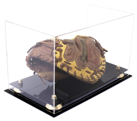 Catchers Mitt <br> Display Case<br> <sub> MLB, NCAA, and more! </sub> - Better Display Cases