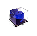 Baseball Helmet <br> Display Case <br> With Mirror<br> <sub> For MLB, NCAA, and more, Display Case, Better Display Cases, Better Display Cases - Better Display Cases