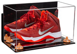 Basketball Shoe Soccer Cleat Football Cleat Display Case with Wall Mount