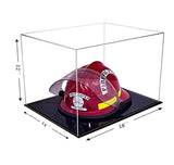 18x14x12 Clear Black Based Display Case